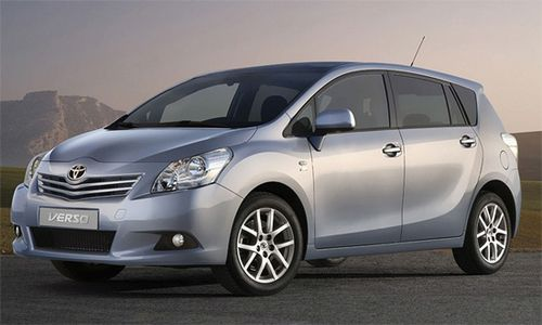 2009-'12 Toyota verso