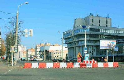 26 И 27 декабря движение на участке улицы ваупшасова будет закрыто