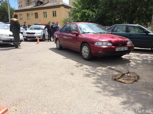 3-Летняя девочка, сбитая в столичном дворе, умерла от полученных в дтп травм