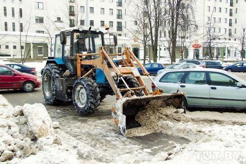 750 Единиц снегоуборочной техники готовы убирать улицы минска