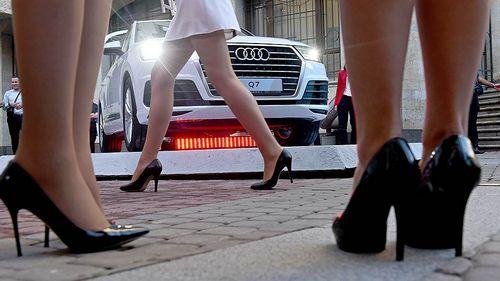 Audi буксует на российском рынке («коммерсант»)