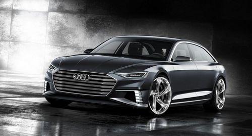 Audi показала концепт универсала из будущего