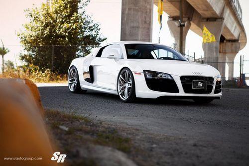 Audi r8 v10 на дисках pur wheels от sr auto group