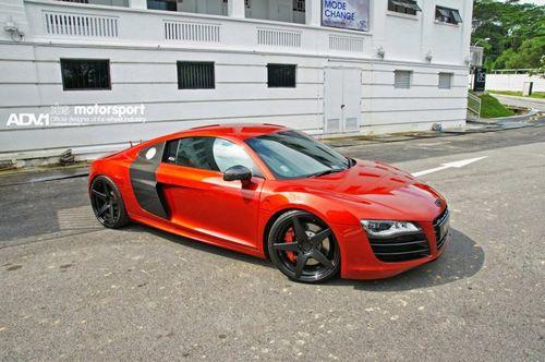 Audi r8 v10 от kbs motorsport