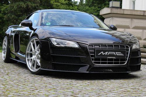 Audi r8 v10 в тюнинге sga aerodynamics
