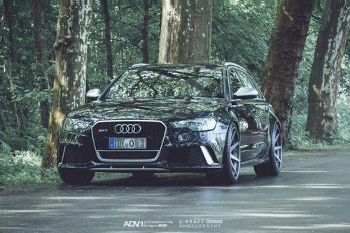 Audi rs6 на дисках adv.1 wheels от att-tec