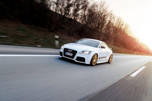 Audi tt rs plus в тюнинге ok-chiptuning