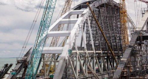 Автодорожная часть крымского мост преодолела «экватор» - «транспорт»