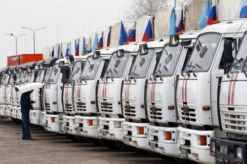 Белые грузовики 50-й гуманитарной колонны мчс вернулись издонбасса вногинск - «транспорт»