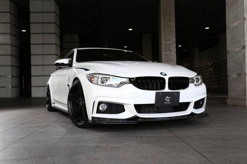 Bmw 4-series gran coupe в обвесе 3d design