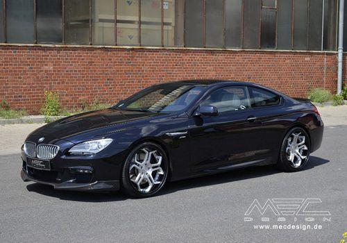 Bmw 6-series coupe в послепродажной настройке mec design