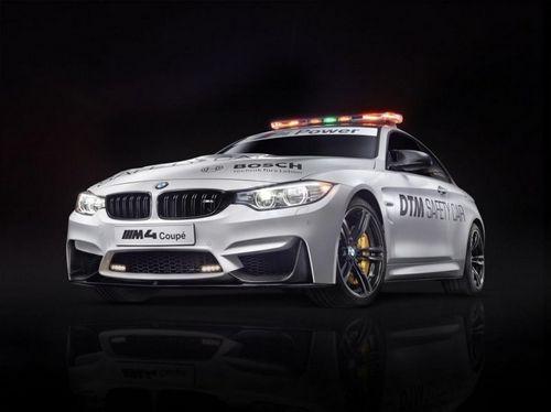 Bmw m4 coupe стал новой машиной безопасности dtm