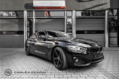 Carlex design освежил отделку интерьера bmw 4-series