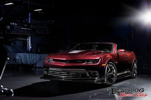 Chevrolet camaro z/28 convertible от blackdog speedshop