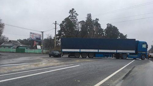 Депутаты запретили грузовики в киеве