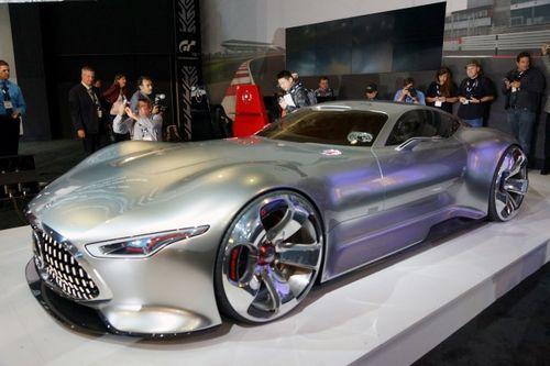 Дорогая игрушка — суперкар mercedes-benz amg vision gran turismo оценили в $1,5 миллиона
