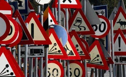 Дорожные знаки вскоре уменьшат повсей россии - «транспорт»