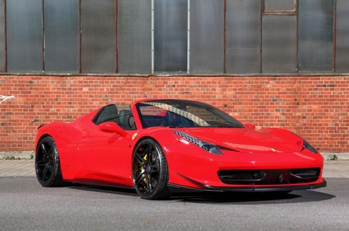 Ferrari 458 italia spider в тюнинге mec design