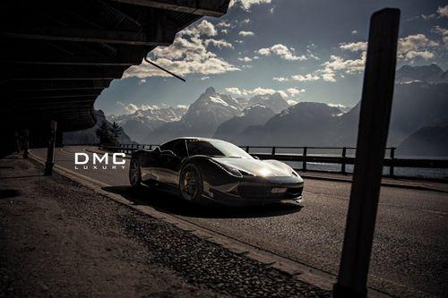 Ferrari 458 italia в обвесе dmc elegante от luxury custom