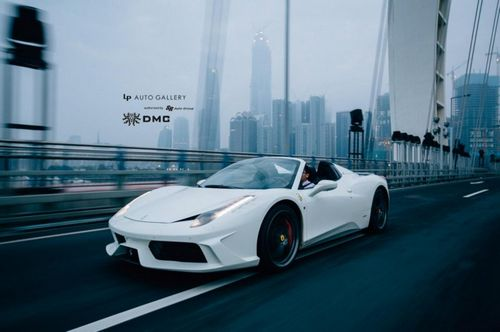 Ferrari 458 monte carlo от dmc