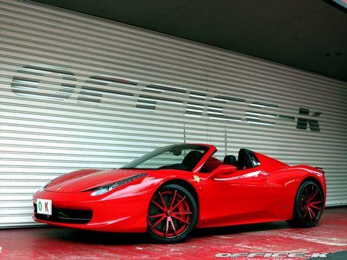Ferrari 458 spider в исполнении office-k