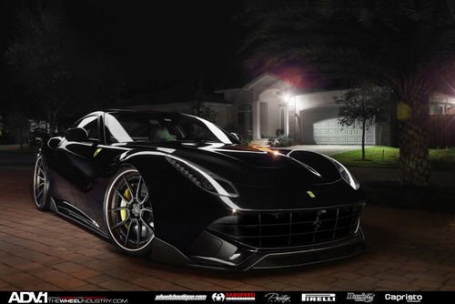 Ferrari f12 berlinetta в тюнинге от adv.1