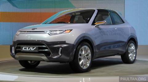 Фирма daihatsu показала 8 новых автомобилей