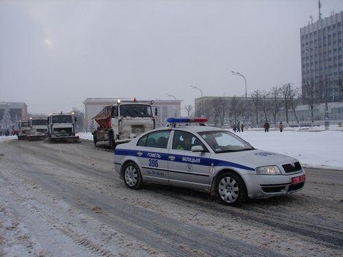 Гаи и дорожные службы гомеля будут работать вместе