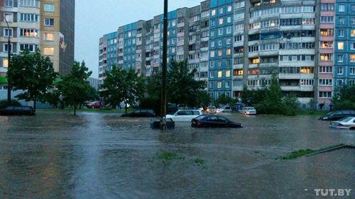 Гаи минска предупреждает о возможном подтоплении некоторых улиц столицы