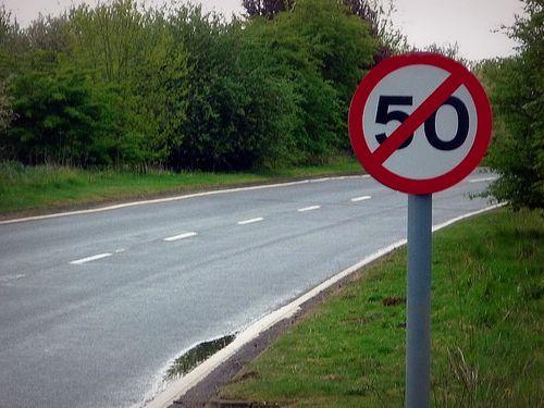 Гаи опровегла планы на снижение скорости до 50 км/ч