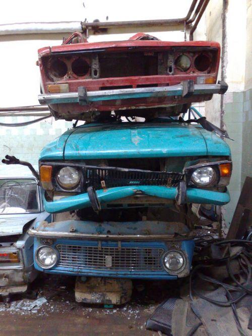 Государство забыло про утилизацию автохлама