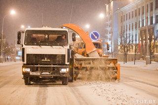 График уборки проезжей части от снега в столице