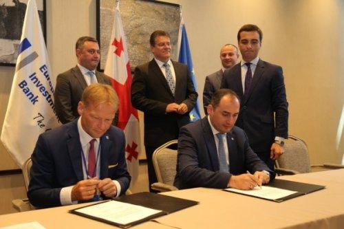 Грузия получит вдолг отевропейского инвестиционного банка €250 млн - «транспорт»