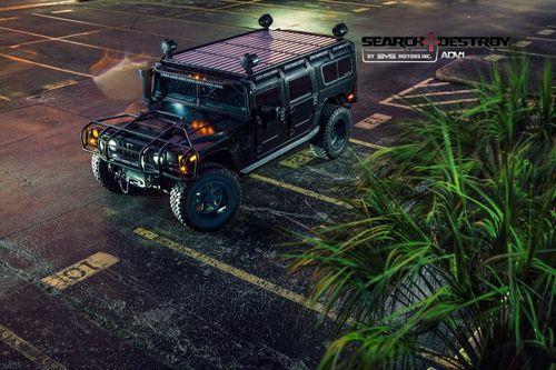 Hummer h1 в тюнинге evs motors