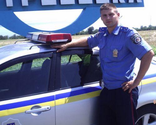 Инспектор гаи спас детей ценой патрульного автомобиля