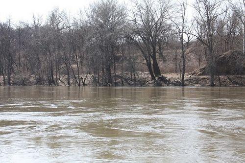 Из-за паводка в гомельской области подтоплены некоторые дороги