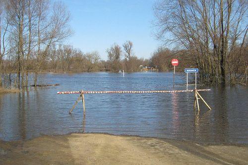 Из-за паводка в минской области ожидается подтопление дорог