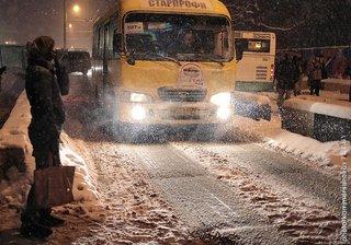 Из-за сильного снегопада обесточено несколько пунктов пропуска на белорусско-украинской границе