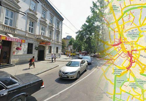 Яндекс рассказал, чем пробки львова отличаются от киевских