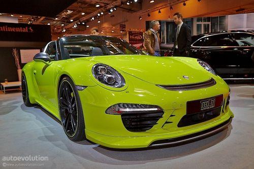 Эссен 2014: porsche 911 targa (991) в исполнении techart