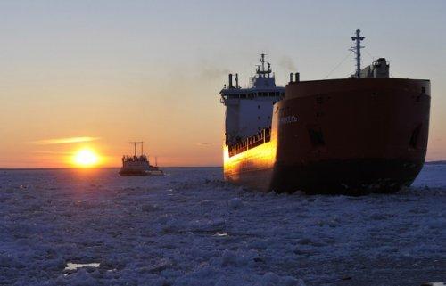 Южная корея дебютировала насеверном морском пути - «транспорт»