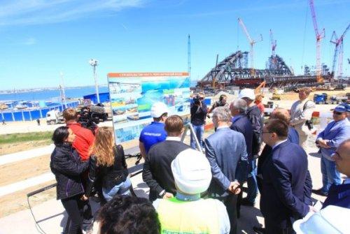 Керченский мост соединит крым икубань осенью 2017 года - «транспорт»