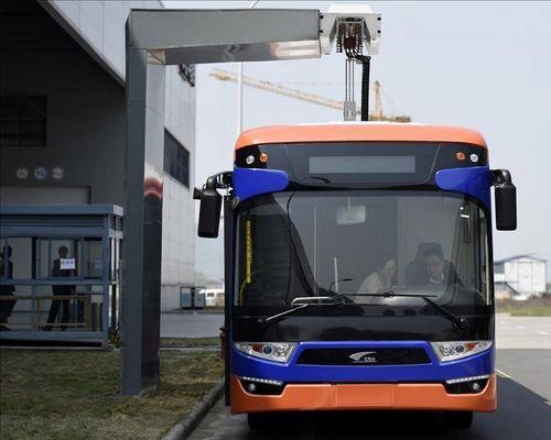 Китайцы создали электроавтобус со сверхбыстрой зарядкой