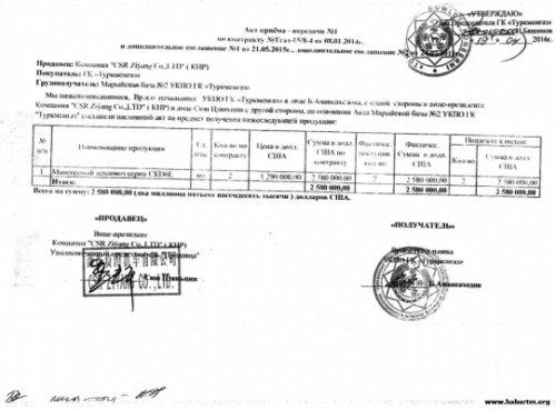 Китайская компания пытается взыскать долг у«туркменгаза» через коллекторов - «транспорт»