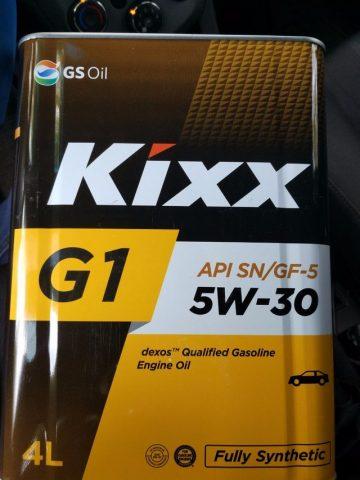 Kixx g1 dexos1 5w30