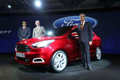 Компания ford представила новый глобальный седан figo
