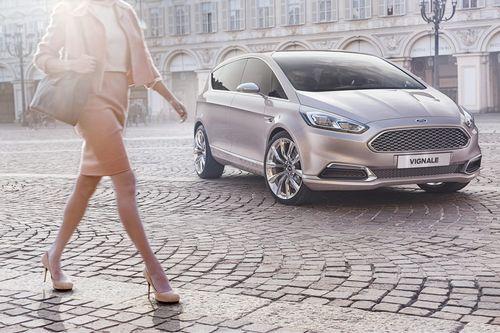Компания ford представила шикарный минивэн vignale