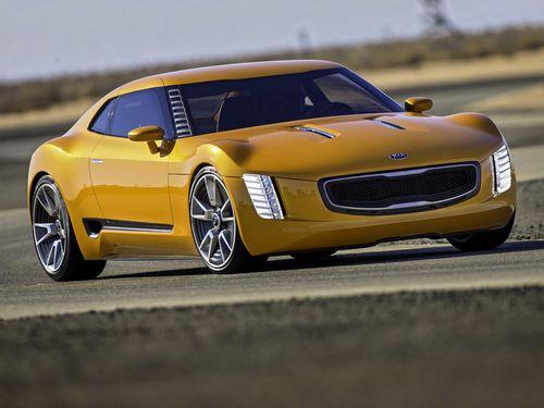 Компания kia представила заднеприводное купе kia gt4 stinger