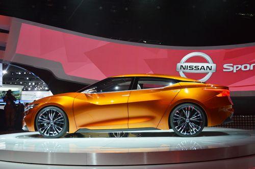 Компания nissan представила наследника «теаны» и два ретро-купе (48 фото)