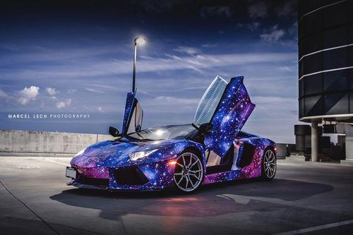 «Космический» lamborghini aventador roadster от dxsc